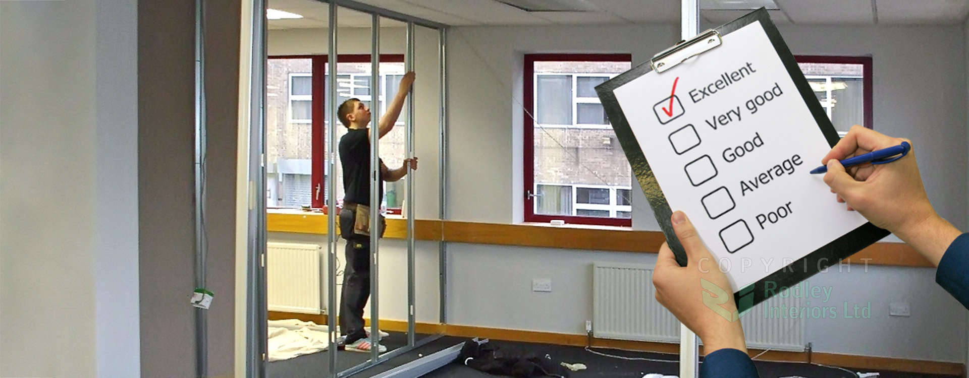 Office partitioning glass office partitioning leeds uk for Office fitters