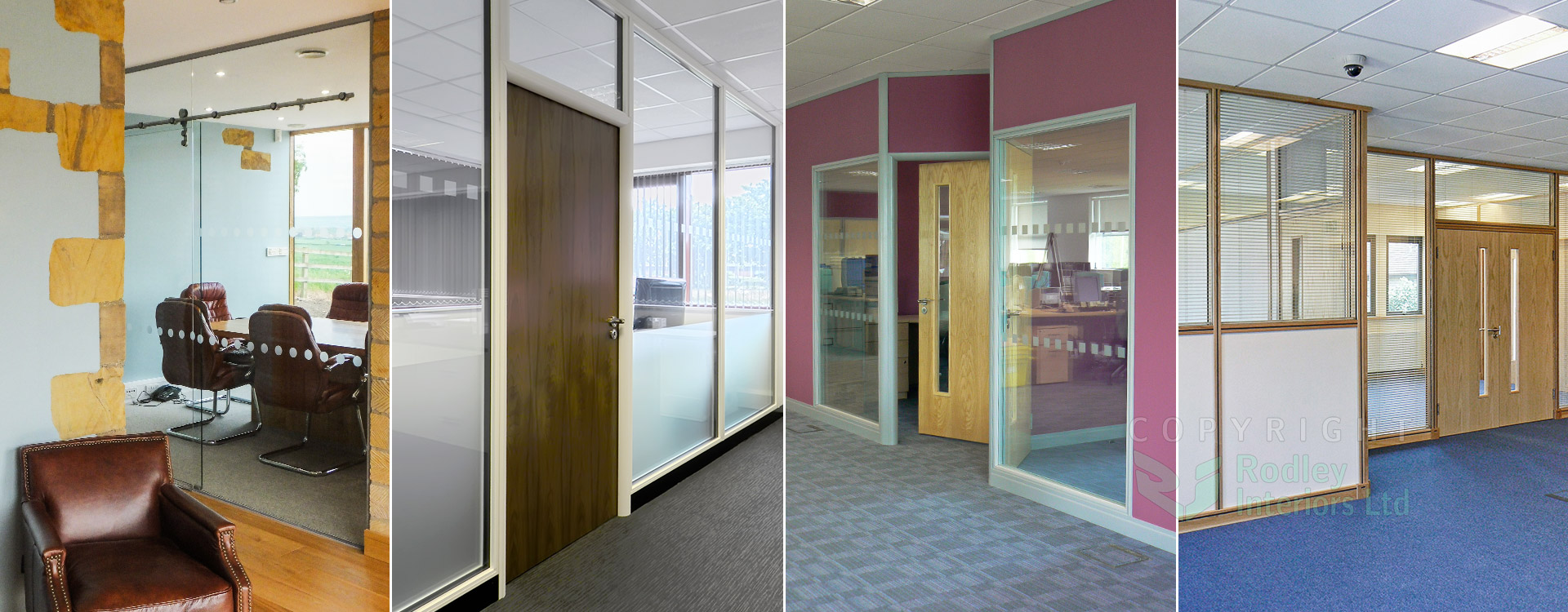 Our range of Office Partitioning Systems