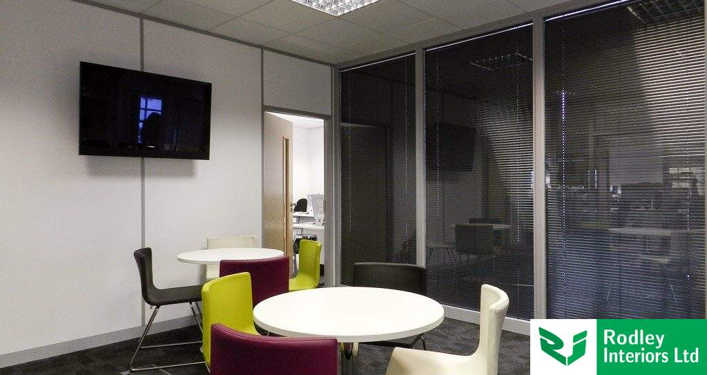 Glass Partitions, MircoCAD Head Office, Bradford