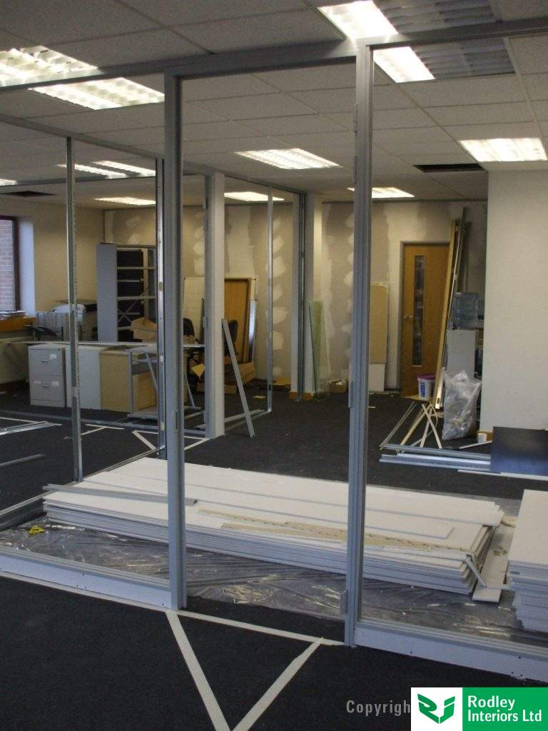 Office refurbishment materials