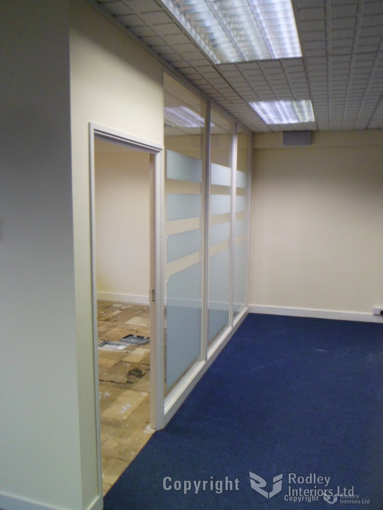 office partititons before refurbishment