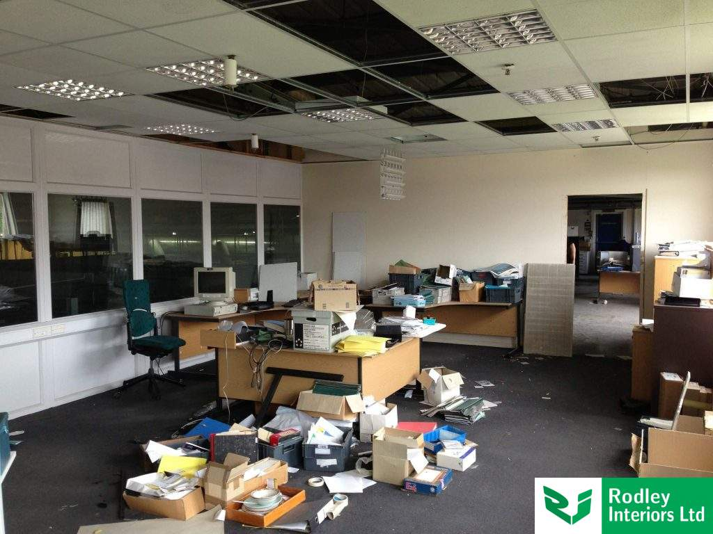 Office in need of refurbishment