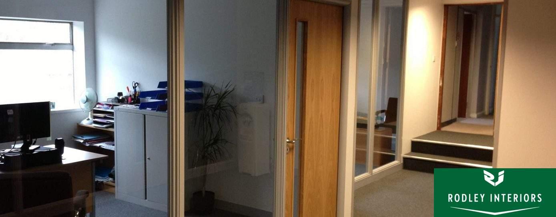 Completed office refurbishment in Leeds