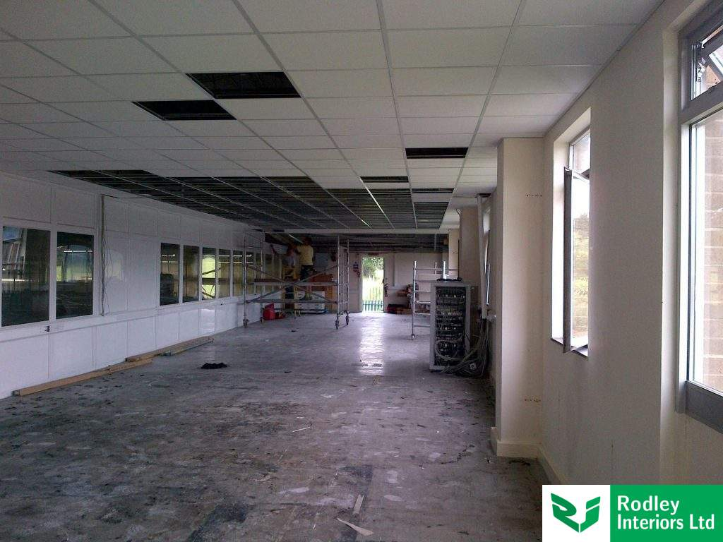Suspended ceiling install