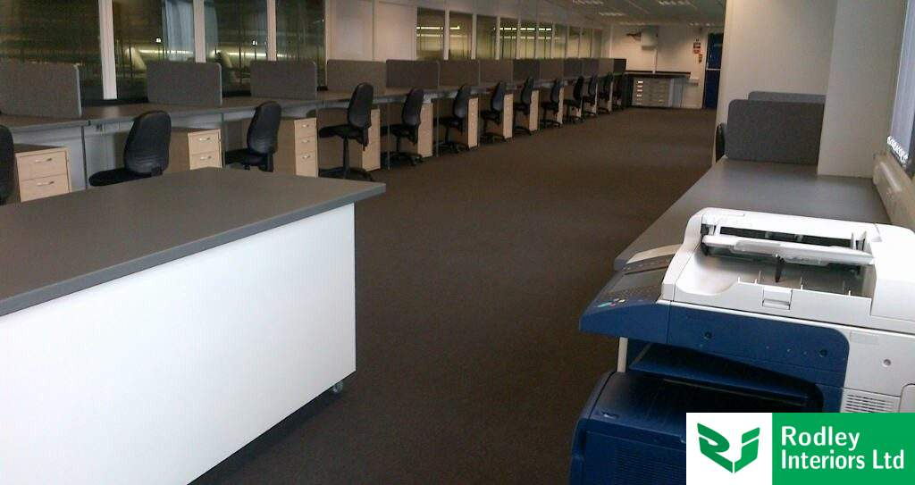 Completed office fit out in Leeds, West Yorkshire