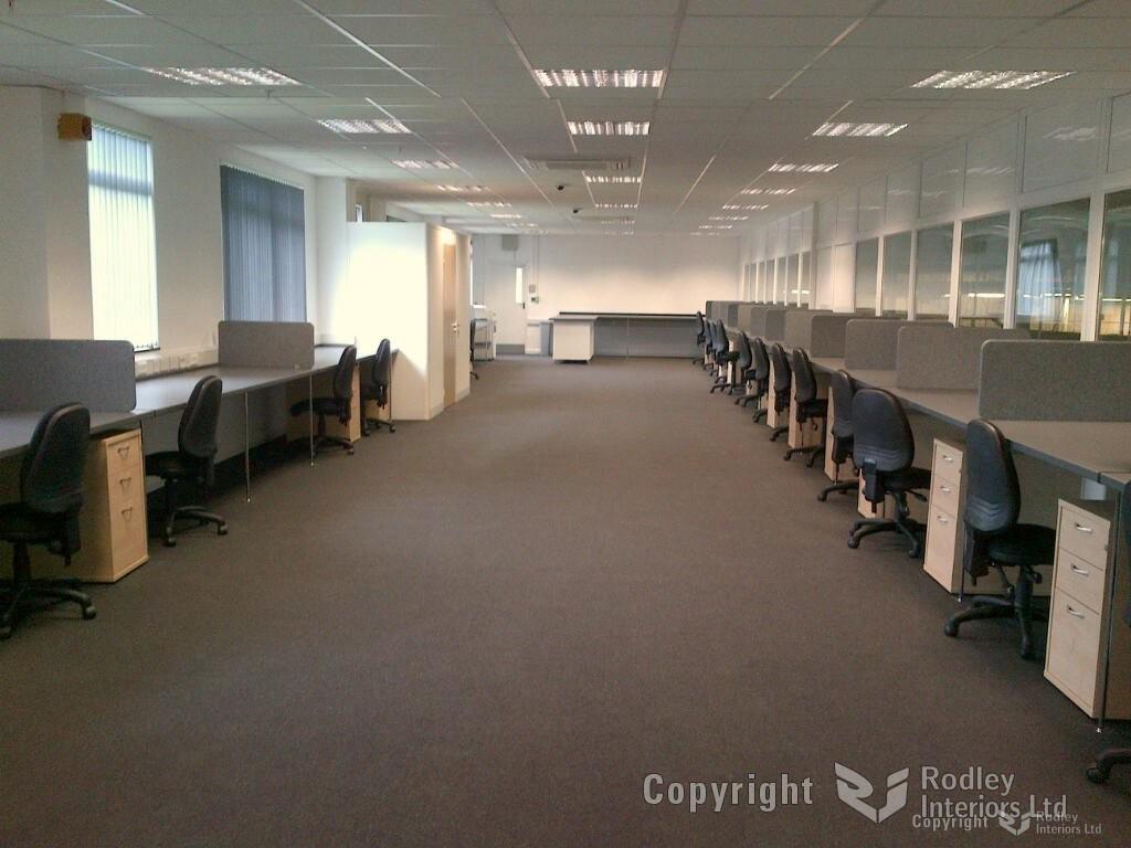 Secure office area
