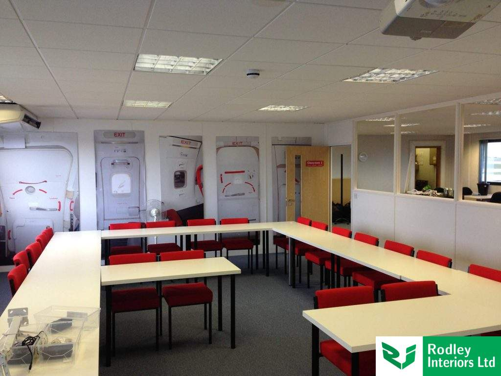 Training room at  the Jet2 Academy in Leeds