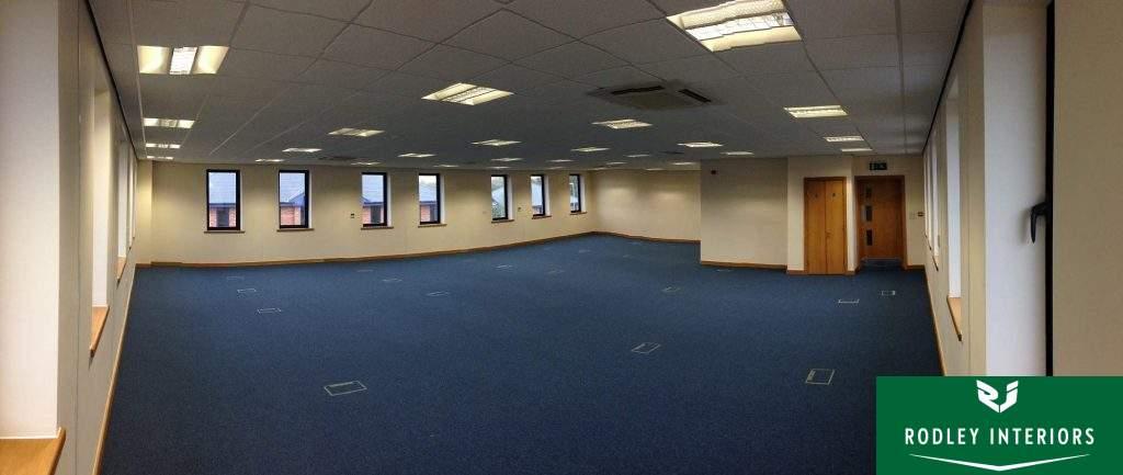 1st Floor office space.