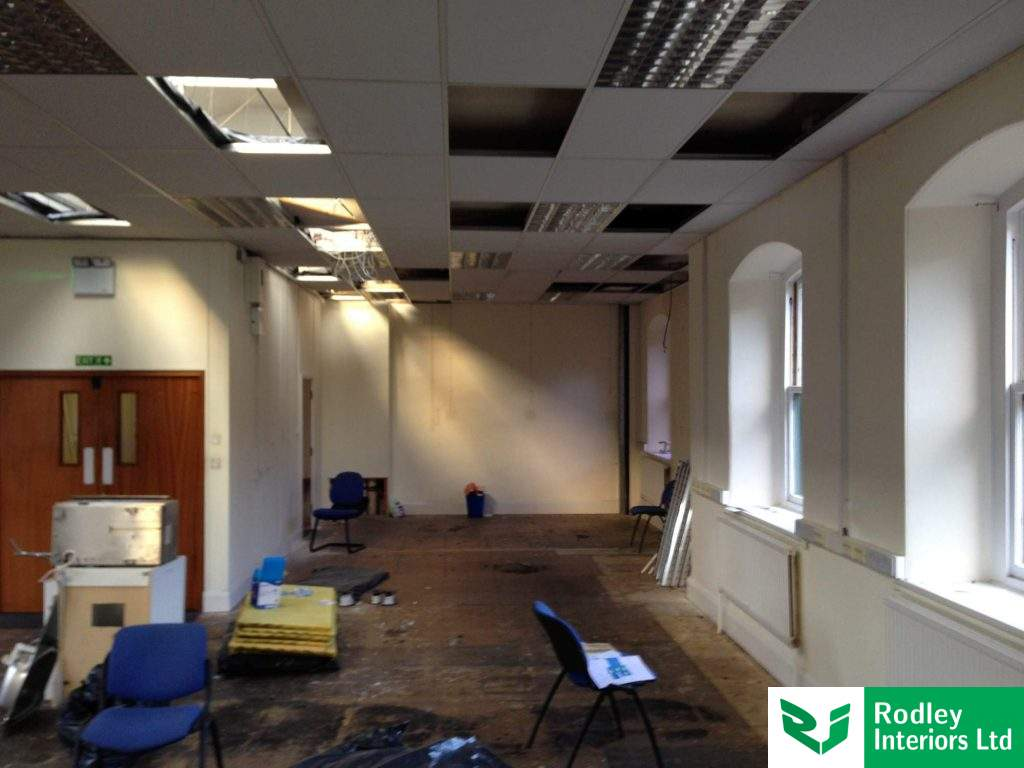 Office refurb. in process