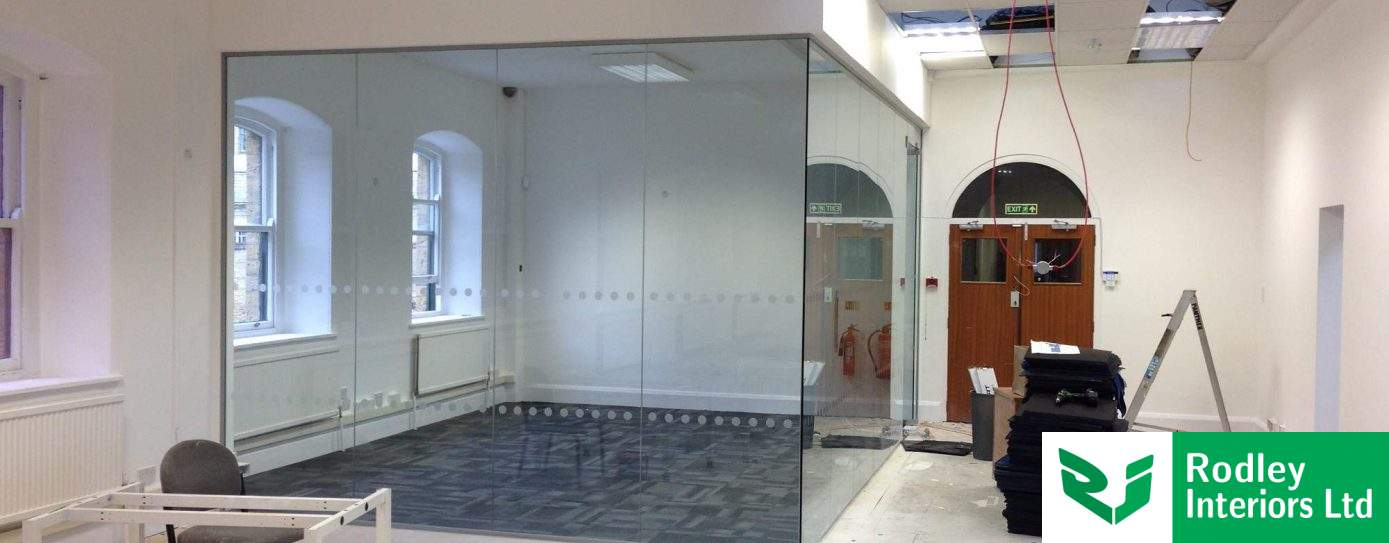 Ongoing frameless glass project