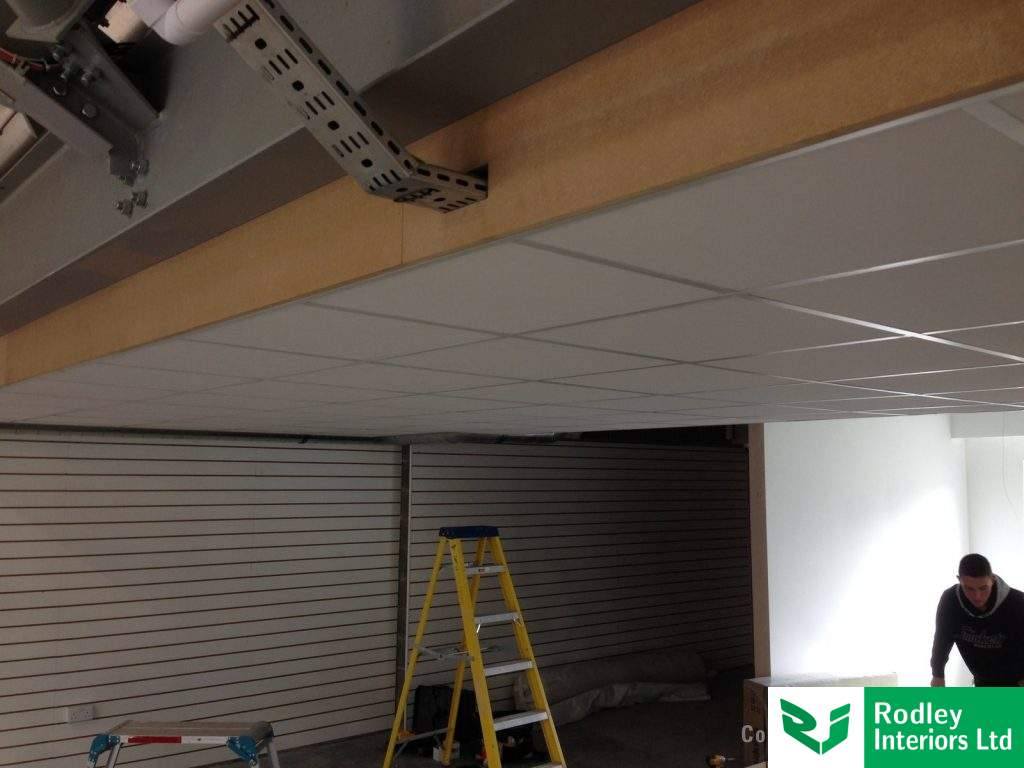 Retail Fit Out With Suspended Ceilings In Skipton Amp Harrogate