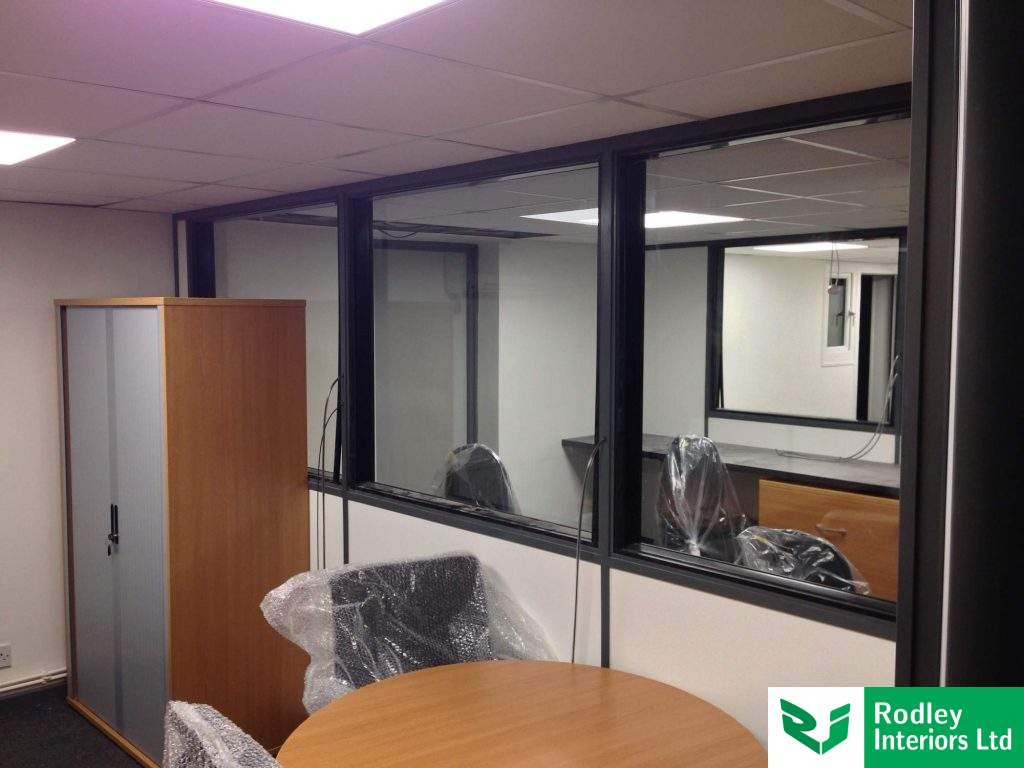 Work in progress with a office refurbishment.