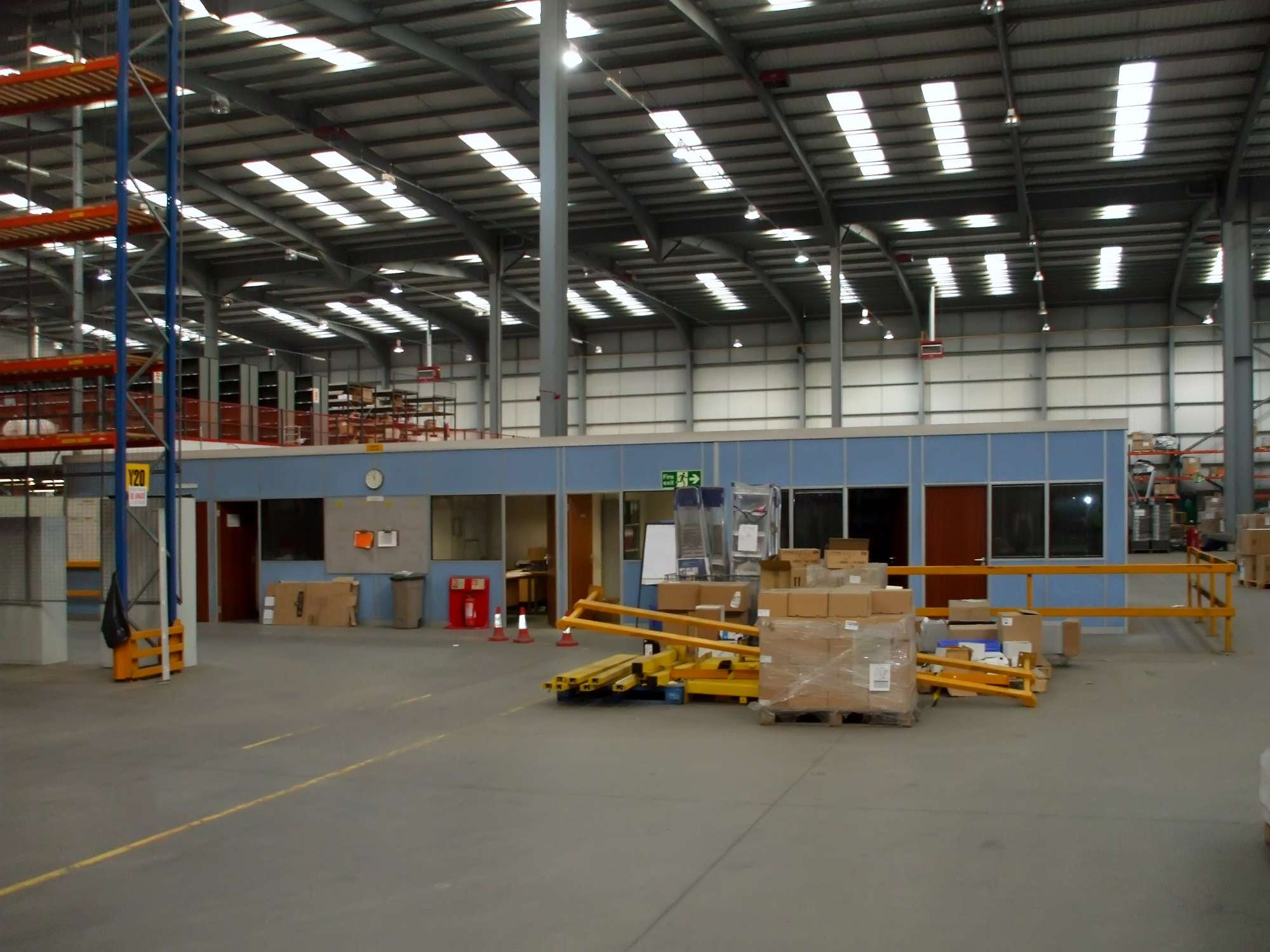 Warehouse partitioning system for our Leeds client