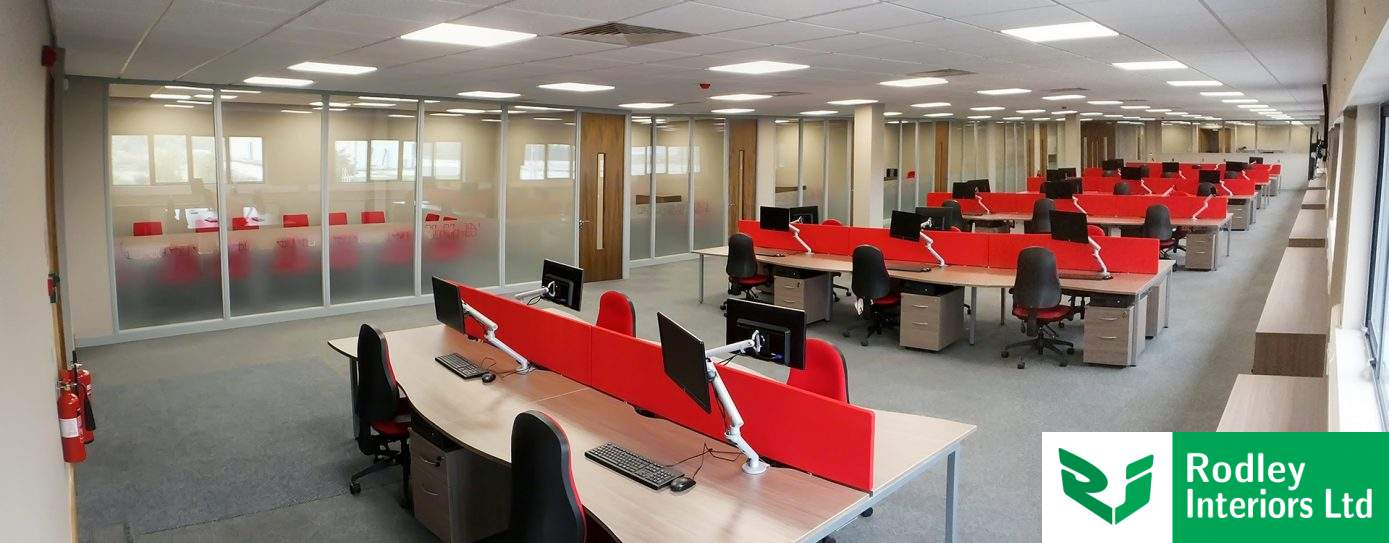 Aluminium 75mm & 100mm Office Partitions