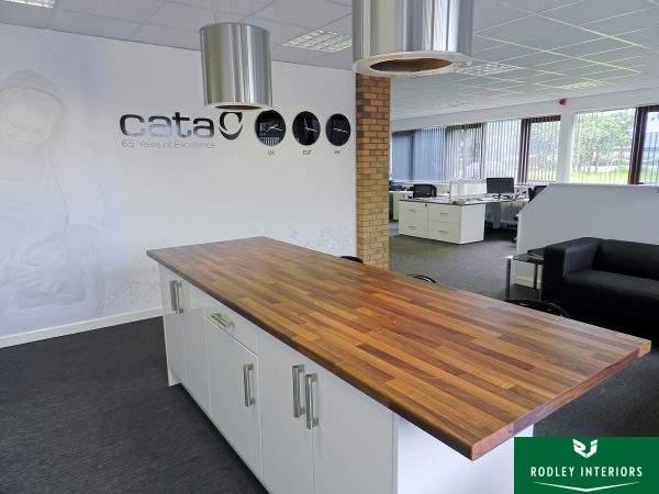 Modern office kitchen