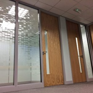 Glass partitioning yorkshire