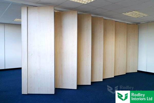 Image gallery movable acoustic panels for Acoustic folding partitions