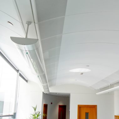 Arched Barrel Suspended Ceiling