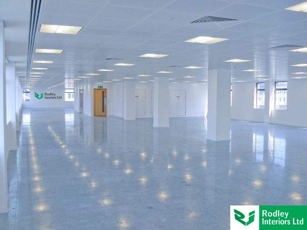Before office fit out in Leeds starts