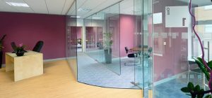 Frameless Glass Partitioning and Full Height Glazed Partitions