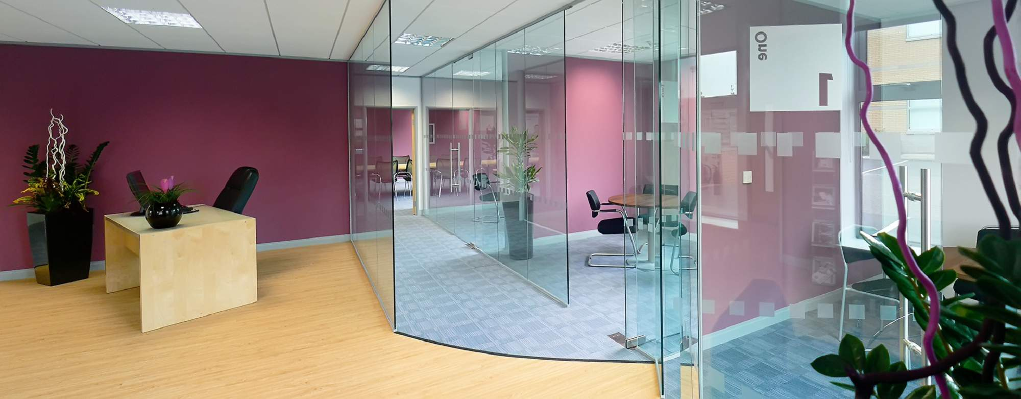 Glass Partitioning Frameless Glass Office Partitioning