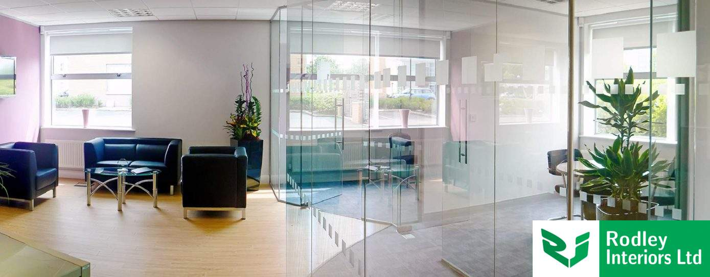 Glass Office Partitions & Glazed Partitioning