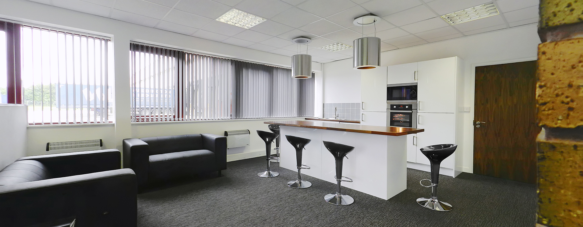 Case study of a modern office interior design for Office interior design uk