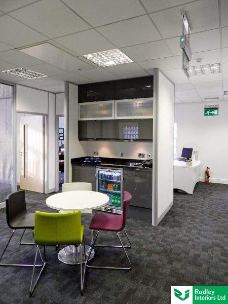 Bradford office, modern kitchen