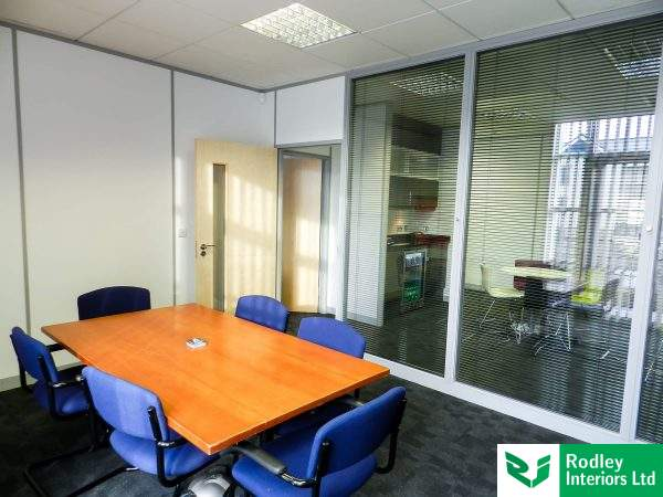 main glass partition wall