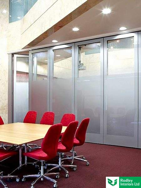 movable wall for an office