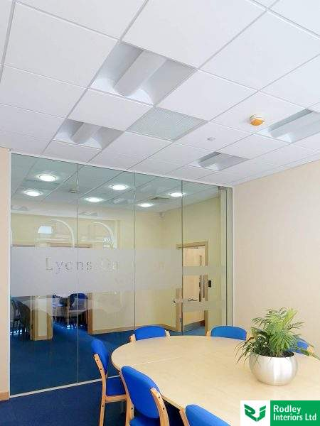 Leeds Board Room with eco-friedly Lighting