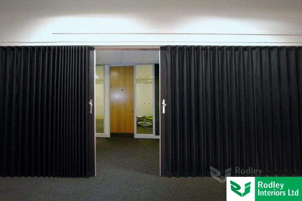 Vinyl Concertina office screens