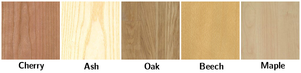 Wood Samples for Timber Partition