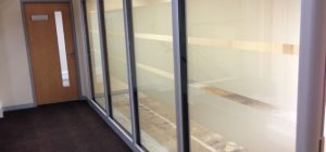 Glass partition walls project in North Yorkshire