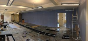 Recent office partitioning projects