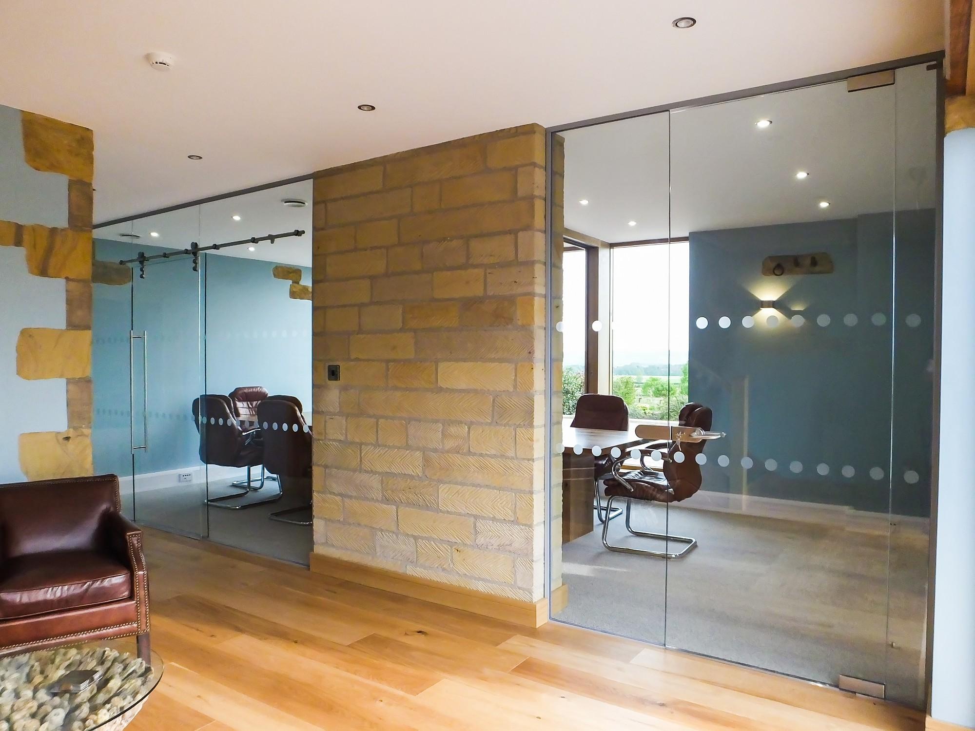 High-spec refurbishment in Wakefield using full-wall graphics
