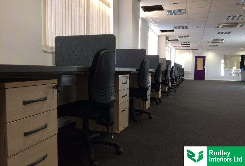 Office workstations in West Yorkshire