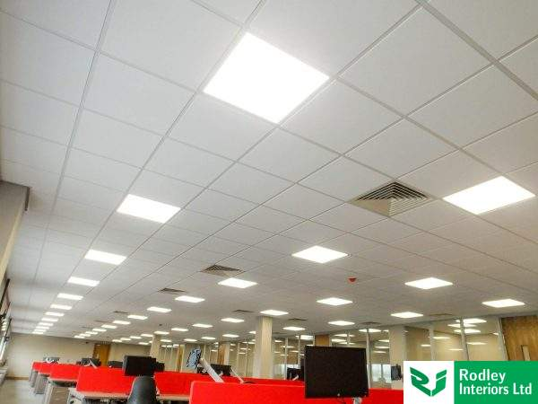 600mm x 600mm Dune Tegular Ceiling Tiles.