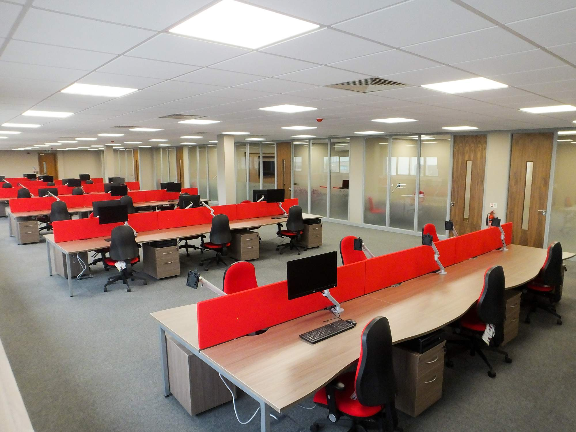 Partitioning A Large Office Space