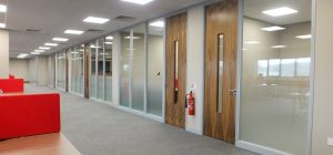 Case Study: Partitioning a large office space