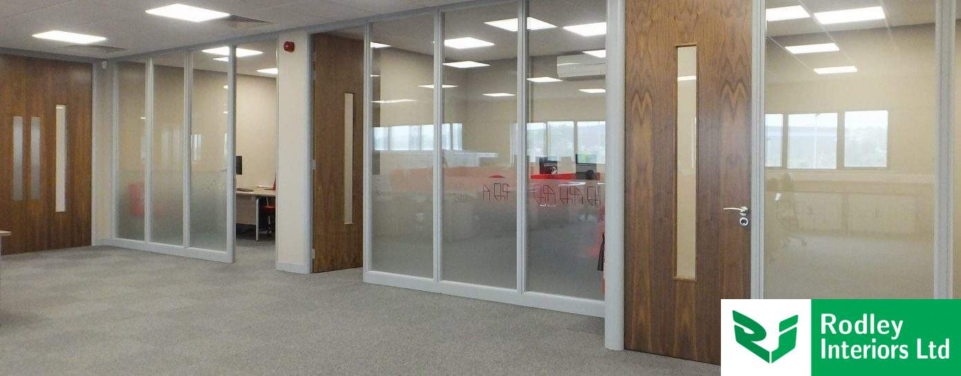 Office partitioning works to Doncaster BMW office