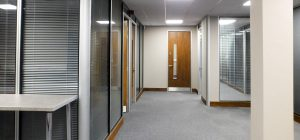 Matching existing office partitions with new