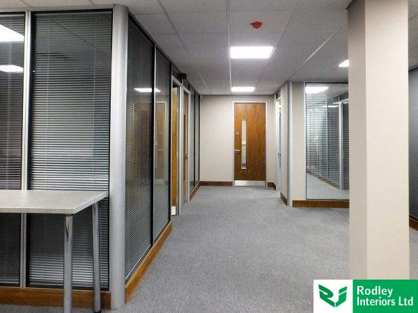 Office install in Leeds.