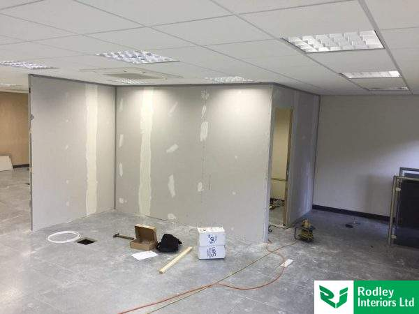 Partitioning office in West Yorskhire