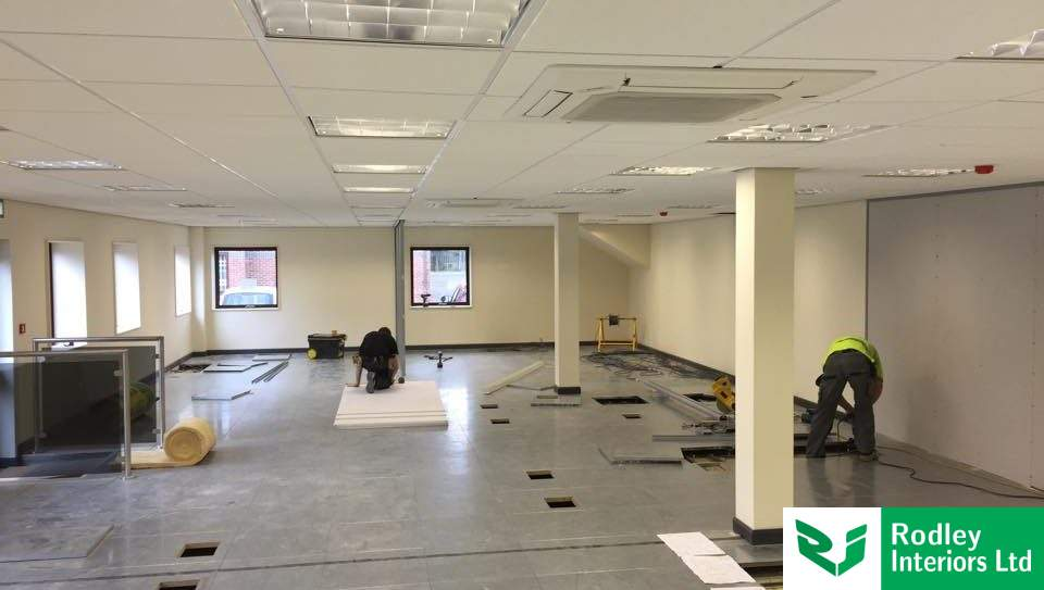 Refurbishment project within the building sector