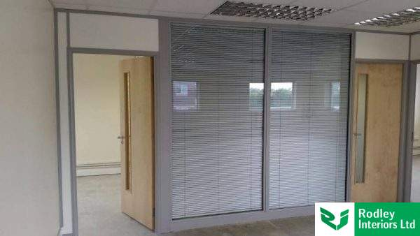 Full height double glazed modules