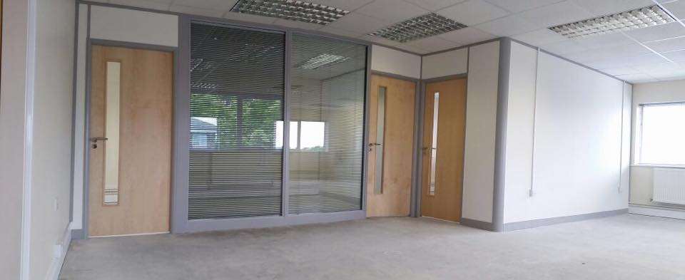 Large office refurbishment in Lincolnshire
