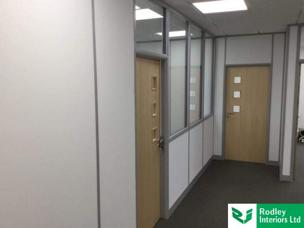 Office fit out in Knottingley