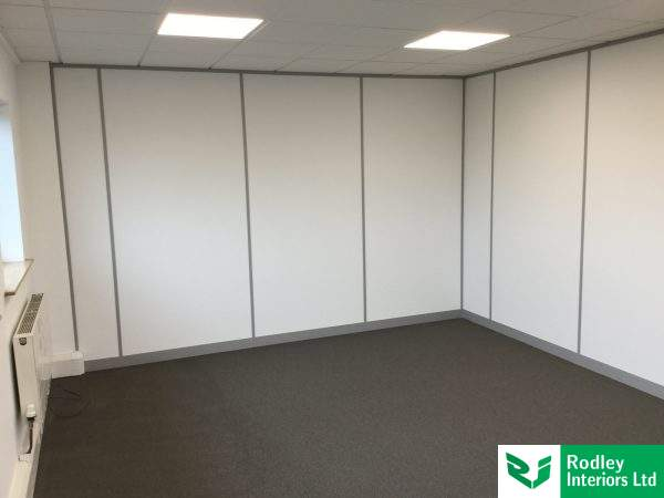 100mm solid partitioning