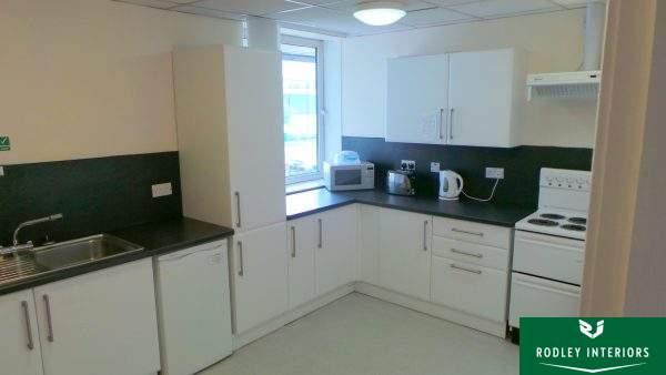 New office kitchen